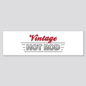 Vintage Hot Rod Bumper Sticker